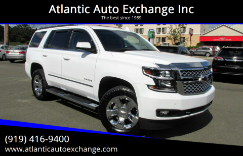 2016 Chevrolet Tahoe for sale at Atlantic Auto Exchange Inc in Durham NC