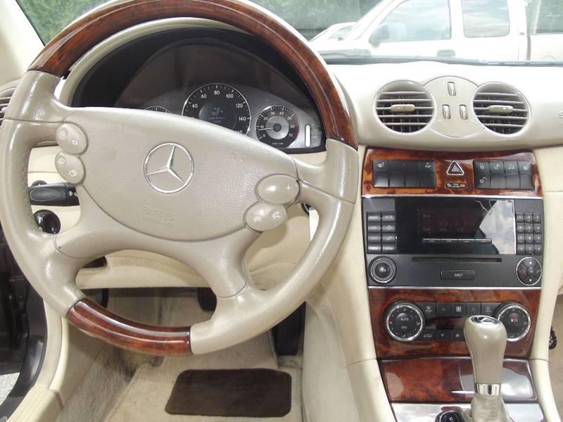 2005 Mercedes-Benz CLK CLK 500 2dr Cabriolet - Little Rock AR