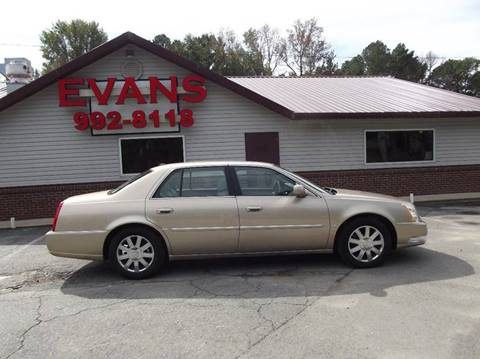 2006 Cadillac DTS for sale at Evans Motors Inc in Little Rock AR