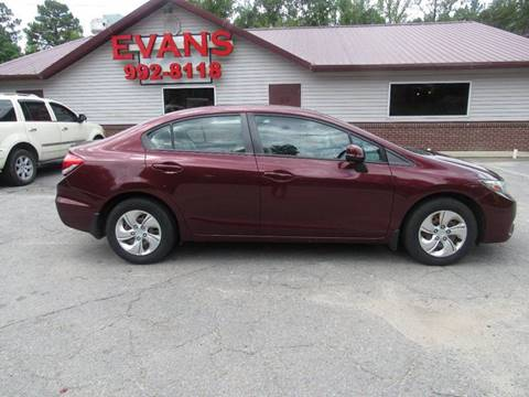 2013 Honda Civic for sale in Little Rock, AR