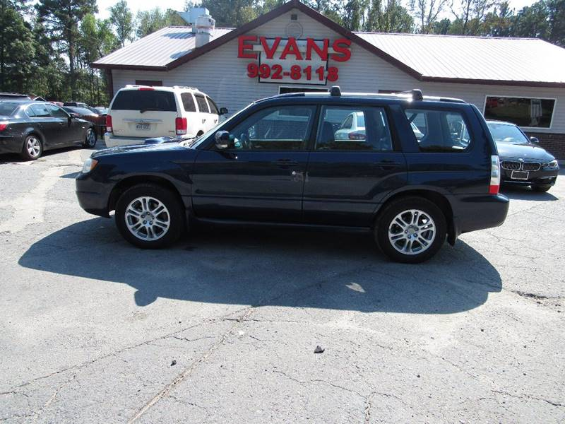 2006 Subaru Forester for sale at Evans Motors Inc in Little Rock AR