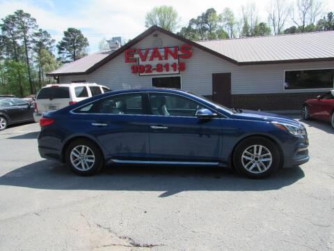 2016 Hyundai Sonata for sale at Evans Motors Inc in Little Rock AR
