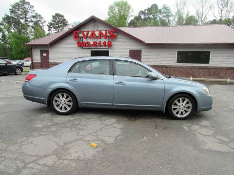 2006 Toyota Avalon for sale at Evans Motors Inc in Little Rock AR