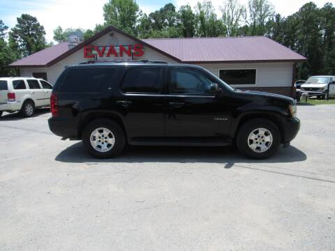 2010 Chevrolet Tahoe for sale at Evans Motors Inc in Little Rock AR