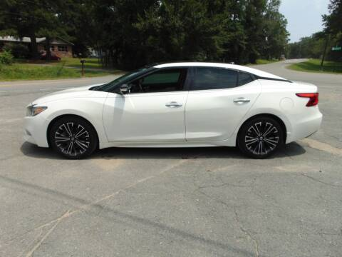 2016 Nissan Maxima for sale at Evans Motors Inc in Little Rock AR