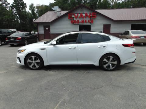 2019 Kia Optima for sale at Evans Motors Inc in Little Rock AR