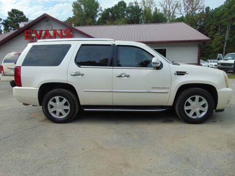 2007 Cadillac Escalade for sale at Evans Motors Inc in Little Rock AR
