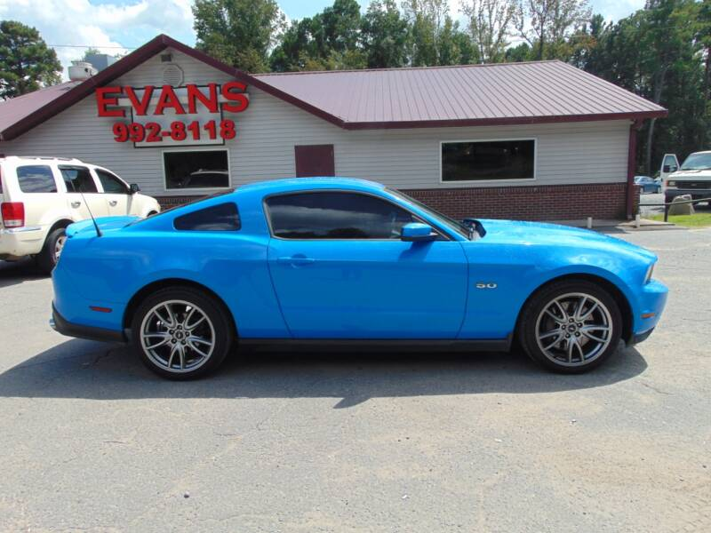 2012 Ford Mustang for sale at Evans Motors Inc in Little Rock AR