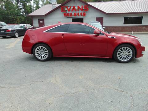 2012 Cadillac CTS for sale at Evans Motors Inc in Little Rock AR