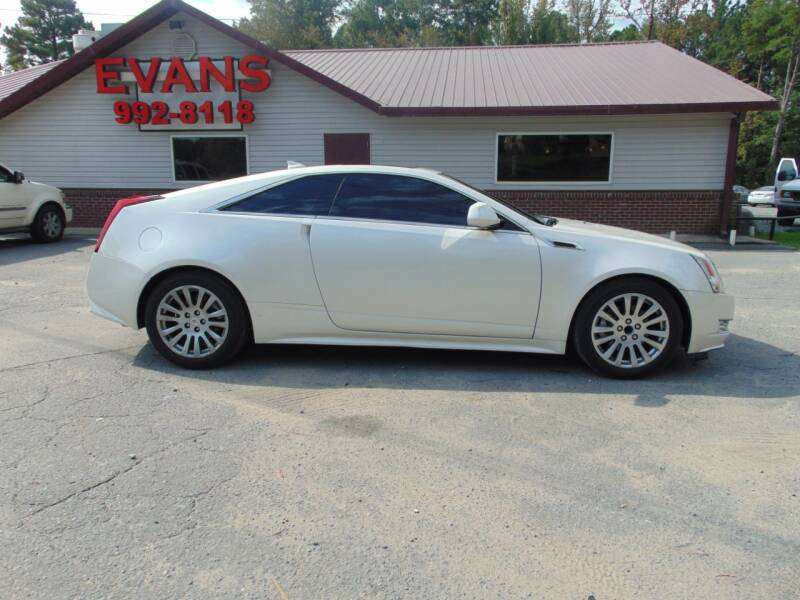 2011 Cadillac CTS for sale at Evans Motors Inc in Little Rock AR