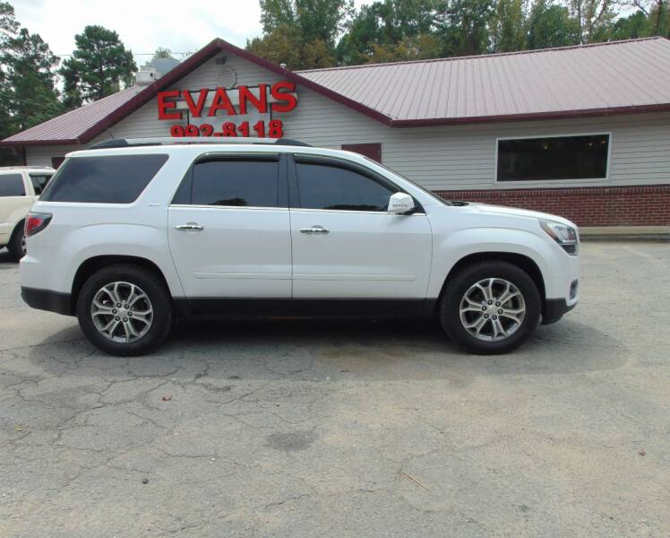 2016 GMC Acadia for sale at Evans Motors Inc in Little Rock AR