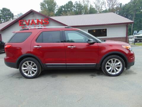 2013 Ford Explorer for sale at Evans Motors Inc in Little Rock AR