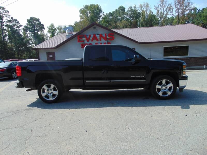 2015 Chevrolet Silverado 1500 for sale at Evans Motors Inc in Little Rock AR
