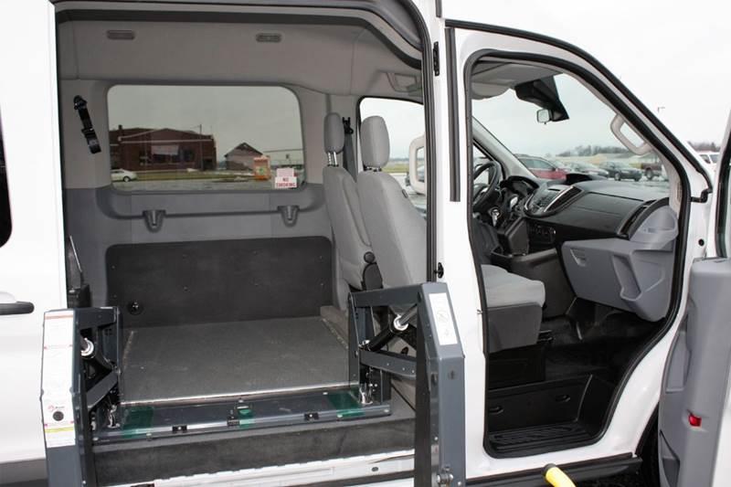 2016 Ford Transit Wagon 350 Xlt 3dr Lwb Medium Roof