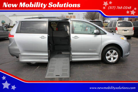 2012 Toyota Sienna for sale at New Mobility Solutions in Jackson MI