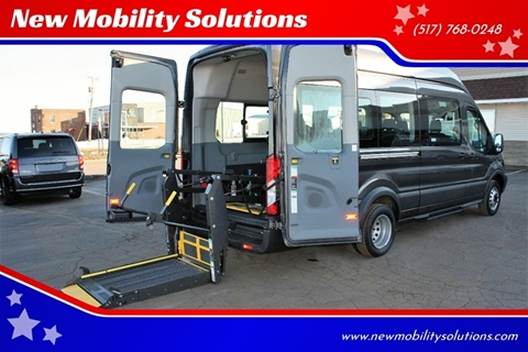 2017 Ford Transit Passenger 350 XLT for sale at New Mobility Solutions - Wheelchair Accessible Vehicles in Jackson MI