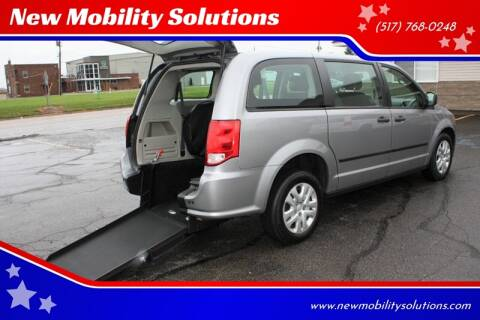 2016 Dodge Grand Caravan SE for sale at New Mobility Solutions - Wheelchair Accessible Vehicles in Jackson MI