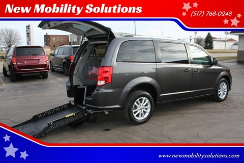 2018 Dodge Grand Caravan SXT for sale at New Mobility Solutions - Wheelchair Accessible Vehicles in Jackson MI