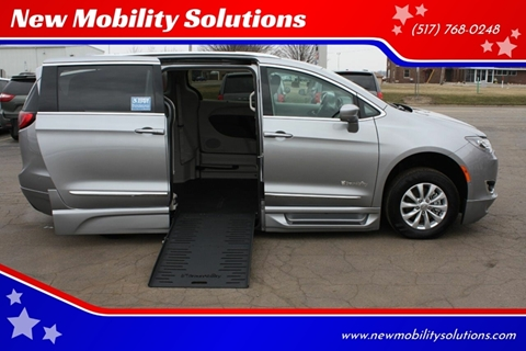 2018 Chrysler Pacifica Touring L Plus for sale at New Mobility Solutions - Wheelchair Accessible Vehicles in Jackson MI