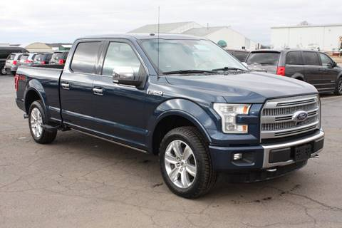 2016 Ford F-150 Platinum for sale at New Mobility Solutions - Wheelchair Accessible Vehicles in Jackson MI