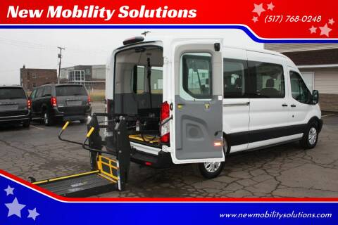 2019 Ford Transit Passenger 350 XLT for sale at New Mobility Solutions - Wheelchair Accessible Vehicles in Jackson MI