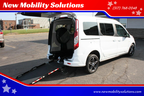 2017 Ford Transit Connect Wagon for sale at New Mobility Solutions in Jackson MI