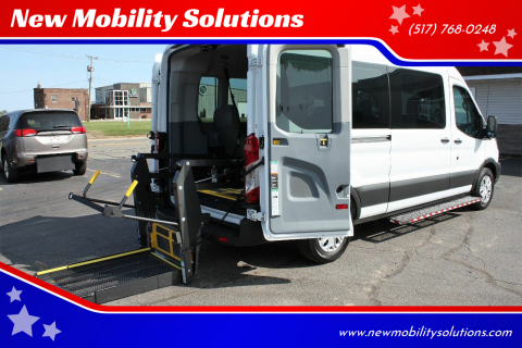 2017 Ford Transit Passenger for sale at New Mobility Solutions in Jackson MI