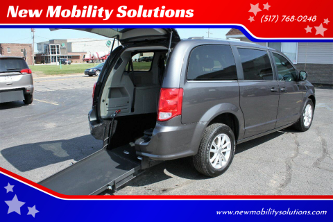 2018 Dodge Grand Caravan for sale at New Mobility Solutions in Jackson MI