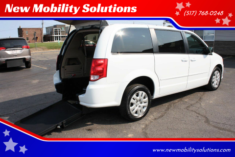 2016 Dodge Grand Caravan for sale at New Mobility Solutions in Jackson MI