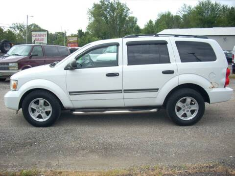 2008 Dodge Durango for sale at H&L MOTORS, LLC in Warsaw IN