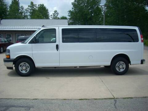 2017 Chevrolet Express Passenger for sale at H&L MOTORS, LLC in Warsaw IN