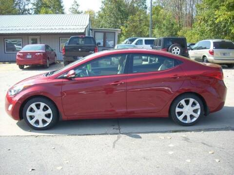 2013 Hyundai Elantra for sale at H&L MOTORS, LLC in Warsaw IN