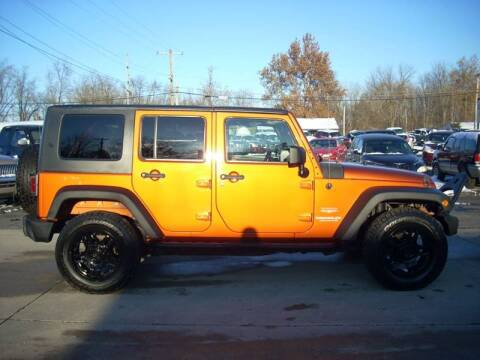 2010 Jeep Wrangler Unlimited for sale at H&L MOTORS, LLC in Warsaw IN