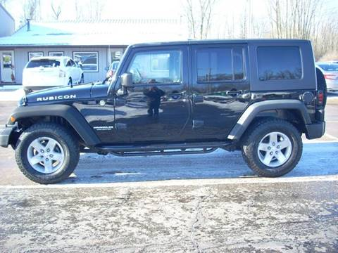 2008 Jeep Wrangler Unlimited for sale at H&L MOTORS, LLC in Warsaw IN