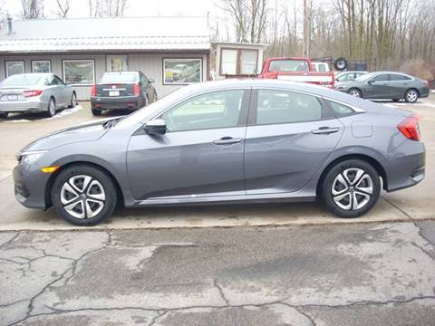 2018 Honda Civic for sale at H&L MOTORS, LLC in Warsaw IN