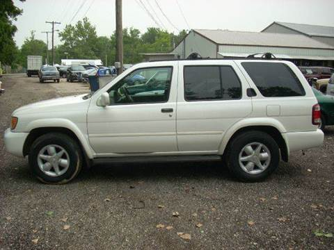 2001 Nissan Pathfinder For Sale In Warsaw, IN
