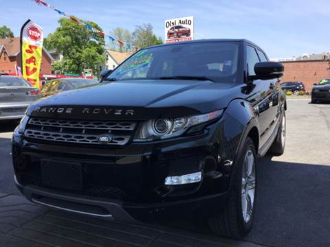 2013 Land Rover Range Rover Evoque for sale at Olsi Auto Sales in Worcester MA