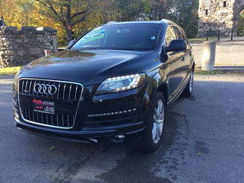 2013 Audi Q7 for sale at Olsi Auto Sales in Worcester MA