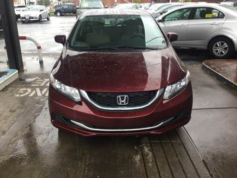 2015 Honda Civic for sale at Olsi Auto Sales in Worcester MA