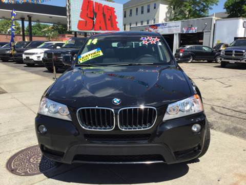 2014 BMW X3 for sale at Olsi Auto Sales in Worcester MA
