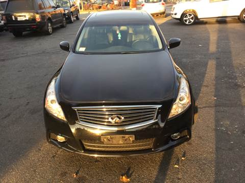 2012 Infiniti G37 Sedan for sale at Olsi Auto Sales in Worcester MA