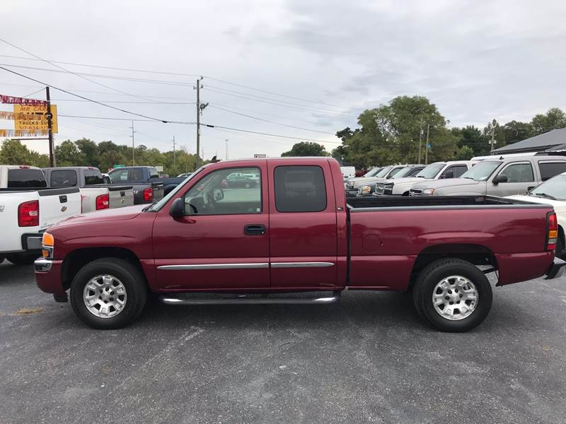 2006 Gmc Sierra 1500 Slt 4dr Extended Cab 4wd 6 5 Ft Sb In Camby In