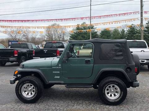 2000 Jeep Wrangler for sale in Camby, IN
