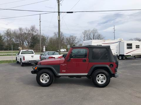 1999 Jeep Wrangler for sale in Camby, IN