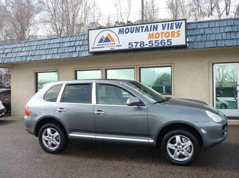 2005 Porsche Cayenne for sale at Mountain View Motors Inc in Colorado Springs CO