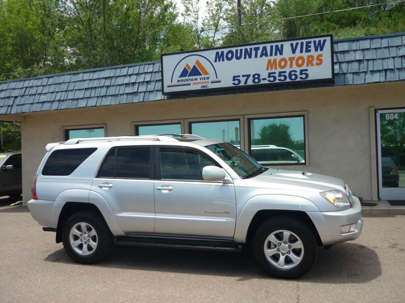2004 Toyota 4Runner Sport Edition 4WD 4dr SUV   Colorado Springs CO
