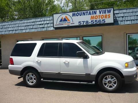 2003 Ford Expedition for sale at Mountain View Motors Inc in Colorado Springs CO