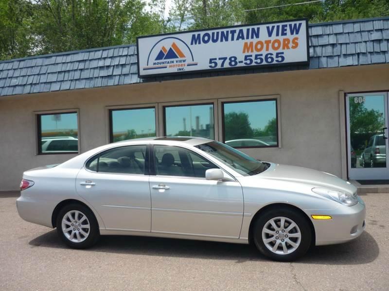 2004 Lexus ES 330 for sale at Mountain View Motors Inc in Colorado Springs CO
