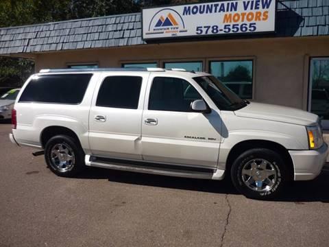 2003 Cadillac Escalade ESV for sale in Colorado Springs, CO