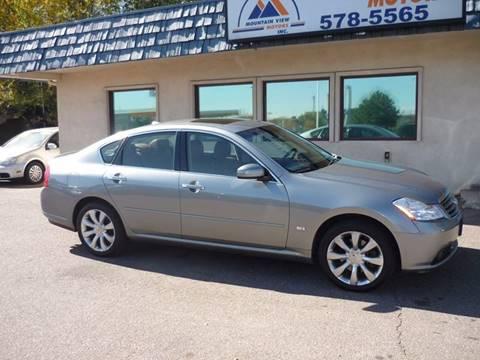 2007 Infiniti M35 for sale in Colorado Springs, CO